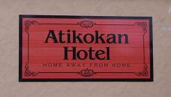 Atikokan Hotel located in Atikokan, Ontario, photo by Nandagikendan, Sept 2013