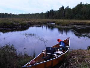 Jackfish Creek portage