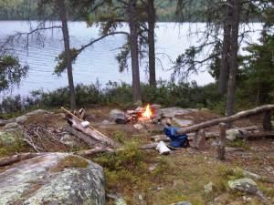 SoloCirrus 1st night camp