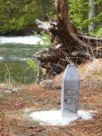 Boundary Marker Knife Portages